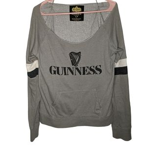 Red Jacket for Guinness Scoop Neck Sweater BNWOT